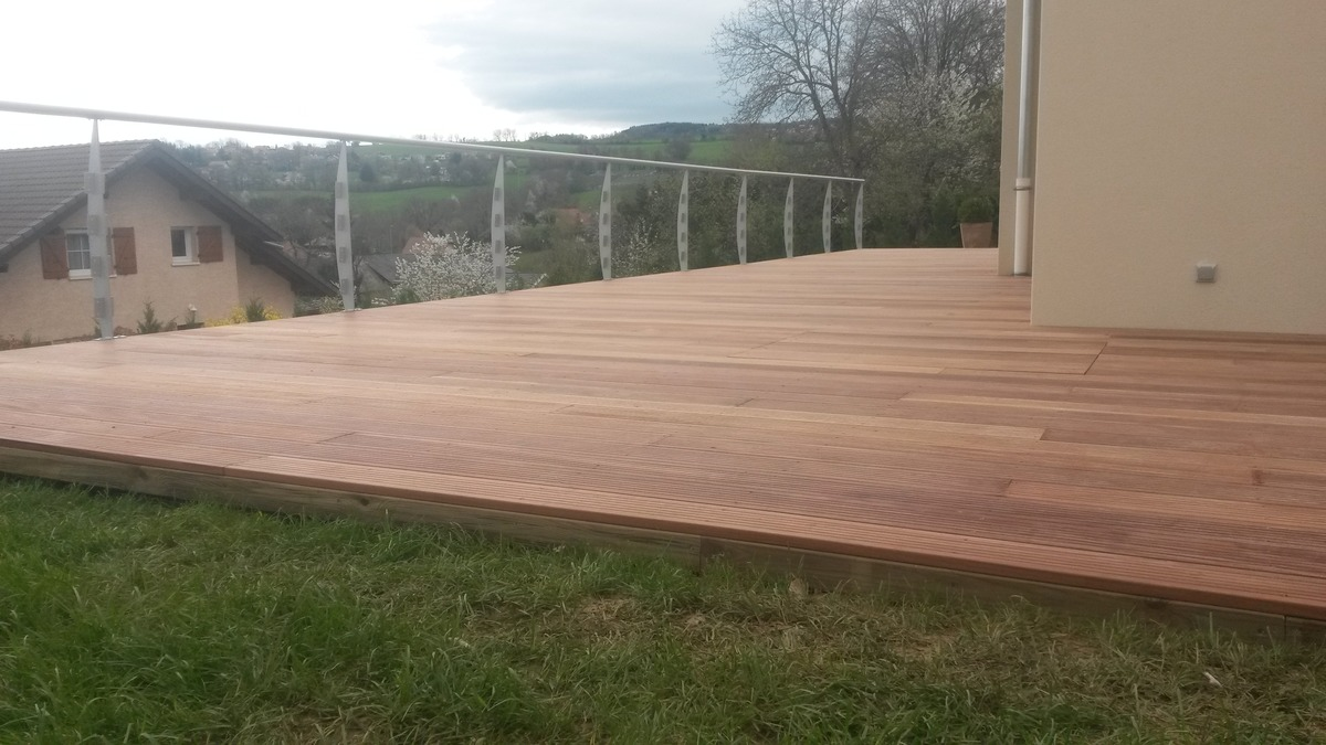 Terrasse bois st chamond